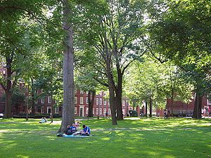 Harvard Yard. Photo taken by Dudesleeper on Se...