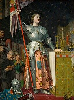 Ingres coronation charles vii