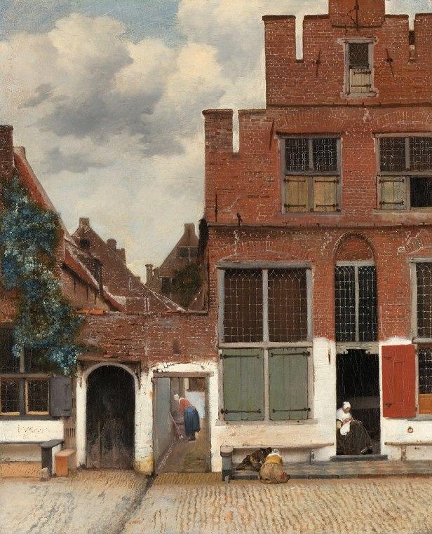 Johannes Vermeer - Gezicht op huizen in Delft, bekend als 'Het straatje' - Google Art Project