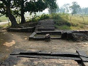 Remains of the Eastern Gate of Kapilavastu (al...