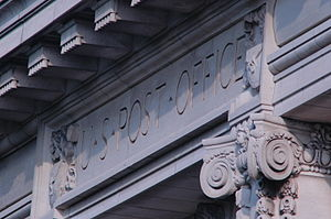 Old Post Office detail