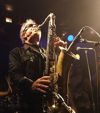 English: Mars Williams performing live at Doub...
