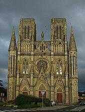 Cathédrale d'Avranches GR22