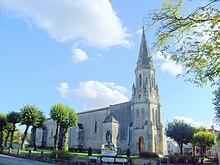 église saint-dizant du gua GR360