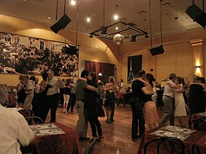 The Canning Salon, a Buenos Aires milonga (tan...