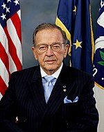 United States Senator Ted Stevens of Alaska