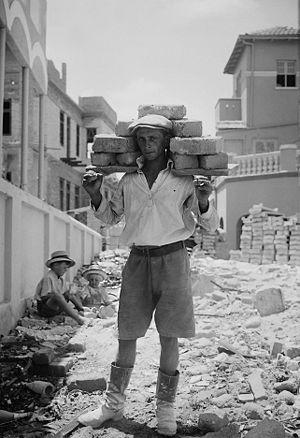 Jewish colonies and settlements. Tel Aviv. Car...