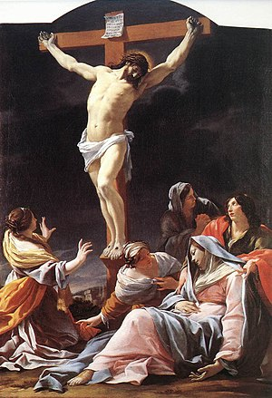 The Crucifixion of Christ by Simon Vouet