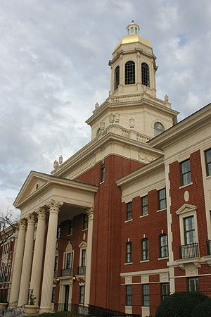 Pat Neff Hall, Baylor University, Texas, USA