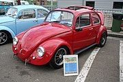 VW Beetle modified in 70s California Look style