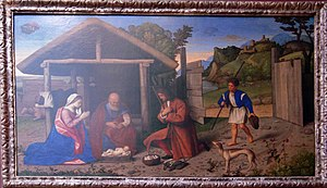 Catena The Adoration of the Shepherds