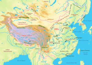 The North China Plain is the area surrounding ...