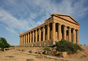 Agrigento (Sicily, Italy). Temple of Concordia.