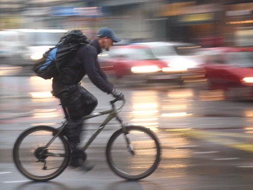 Cycling in Traffic Image