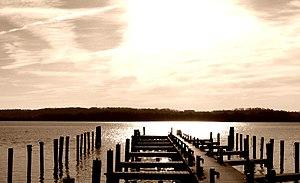 Dock near Washington D.C.