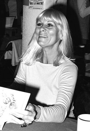 Grace Lee Whitney appearing at a science ficti... (Janice Rand)