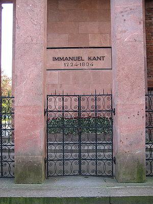 Immanuel Kant Tomb in Koenigsberg