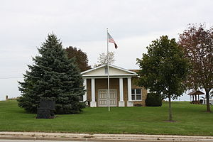 The Iowa County, Wisconsin historical society ...