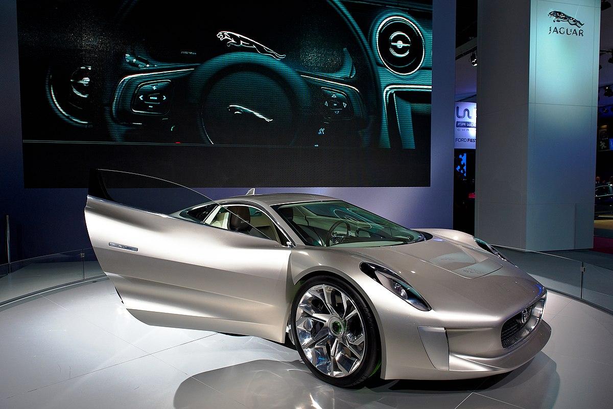Jaguar C X75 Wikipdia