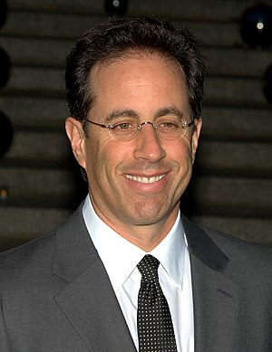 English: Jerry Seinfeld at Tribeca Film Festiv...
