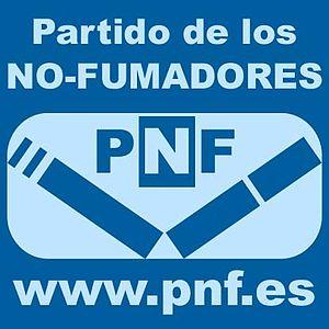 Logotipo PNF - Partido de los No-Fumadores