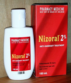 English: Nizoral (Australian packaging)