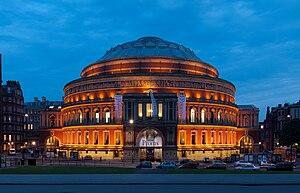 English: Photograph of the Royal Albert Hall, ...