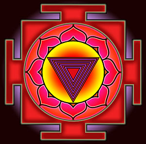 English: Bhairavi Yantra