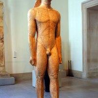 Statue of a Kouros (MET)
