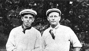 Willie Anderson (left), the U.S. Open champion...