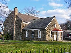 English: Church of the Brethren, 6611 Germanto...