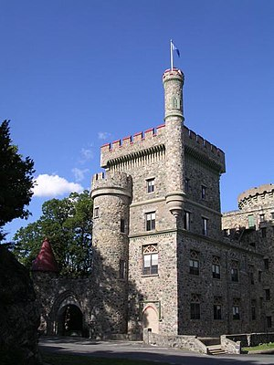 Usen Castle, an iconic building on campus
