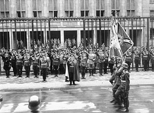 Luftwaffe day parade in front of the Reich Air...