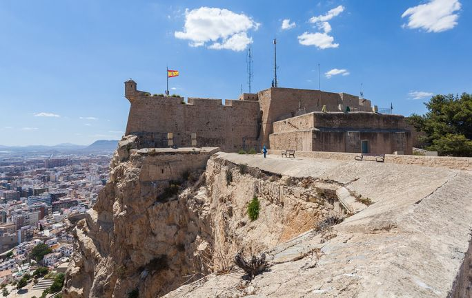 Castillo de Santa Bárbara, Alicante, España, 2014-07-04, DD 51