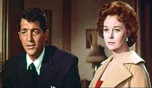 Screenshot of Dean Martin and Susan Hayward fr...