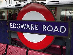 Edgware Road tube station (Circle/District/Ham...