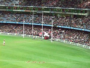 English: AFL goal posts