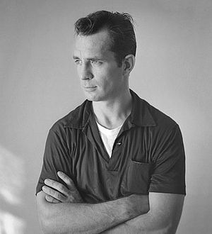 English: Jack Kerouac by photographer Tom Palu...
