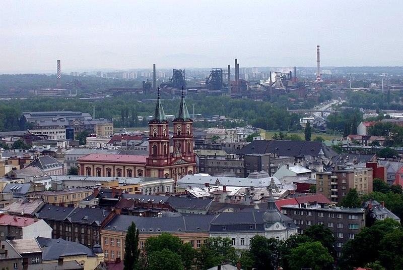 Soubor:Ostrava, pohled z Nové radnice 2.jpg