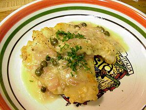 Chicken Piccata. http://pdphoto.org