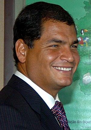 Rafael Correa, current President Pro tempore o...