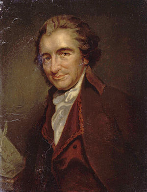 en: Thomas Paine (1737 – 1809), oil painting b...