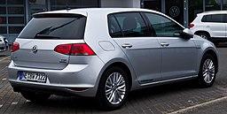 VW Golf 1.4 TSI BlueMotion Technology CUP (VII) – Heckansicht, 15. Juni 2014, Düsseldorf
