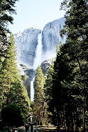 Yosemite Falls afternoon