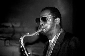 Le saxophoniste américain Archie Shepp en conc...