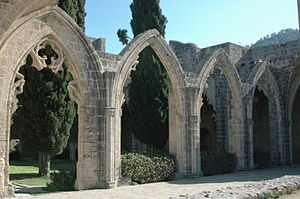 English: Bellapais Abbey