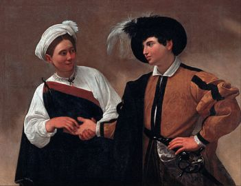 """""""The Fortune Teller"""" by Caravaggio"""