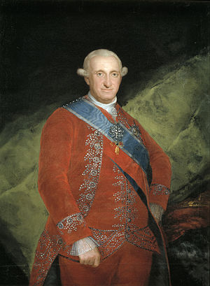 Portrait of Charles IV of Spain