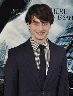English: Daniel Radcliffe at the film premiere...