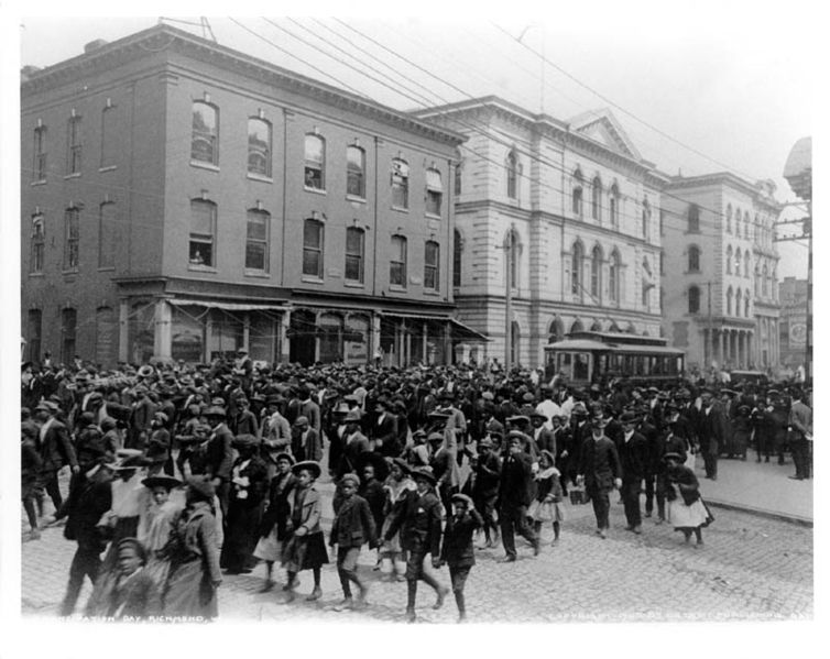 File:Emancipation Day in Richmond, Virginia, 1905.jpg